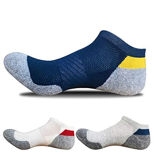 SOFIT Kurze Sneaker Socken Für Damen & Herren (3 Paar), Atmungsaktiv, Dauerhaftes Antibakterielles Deodorant, Unisex Sportsocken Kurz Knöchel Aus Baumwolle - Erhältlich in Zwei Größen -