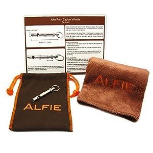 Alfie Pet par petoga couture-Ceylan Sifflet de dressage pour chien avec très facile à utiliser grâce à sa serviette en microfibre