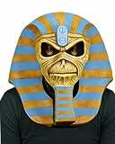 Iron Maiden Powerslave liberado mascara de latex del 30 aniversario