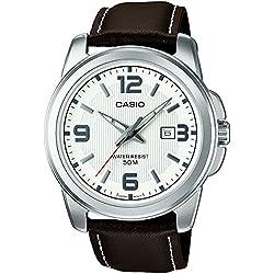 Casio Reloj Analógico de Cuarzo para Hombre con Correa de Cuero – MTP-1314PL-7AVEF