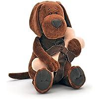 Naranja Toys 071/30–Perro Cookie con huesos, Collection Life, 50cm, Marrón/Rosa