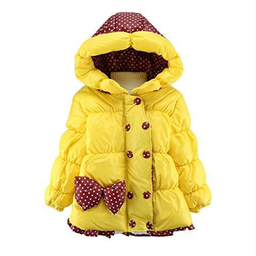 I bambini invernale con cappuccio cappotto del piumino parka Snowsuit