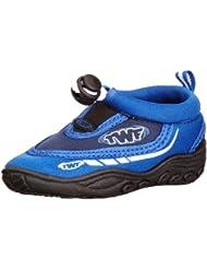 TWF - Escarpines, color negro, azul, talla 23
