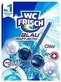 WC Frisch Kraft-Aktiv Blauspüler Chlor Paket, 50 g