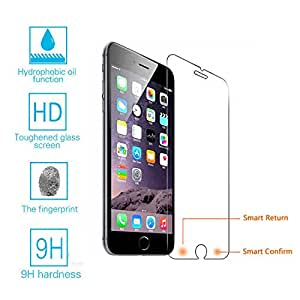 Generic Smart Touch Shortcuts Keys Tempered Glass Film Screen Protector pour Apple iPhone 6 Plus 6s Plus i5.5inchj