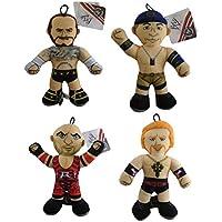 Juego de 4 - 8 pulgadas WWE Wrestling Figuras Soft Toys