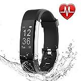 LETSCOM Fitness Tracker HR, Heart Rate Monitor Watch, IP67 Waterproof Activity Tracker