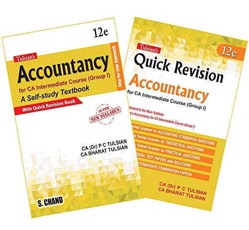 Tulsian's Accountancy: For CA Intermediate Course (Group I) with Quick Revision (2 Books Combo): 1