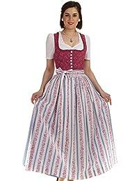 Dirndl Hammerschmid Pillersee beere langes Baumwolldirndl Damen