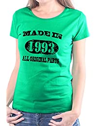 Mister Merchandise Femme Chemise T-Shirt Made in 1993 All Original Parts Years Jahre Geburtstag