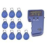 1pc 125KHz RFID Copieur Imprimante Duplicateur d'Identification ID Carte Lecteur d'Accès Portable avec 10pcs Cartes d'Identification Inscriptibles