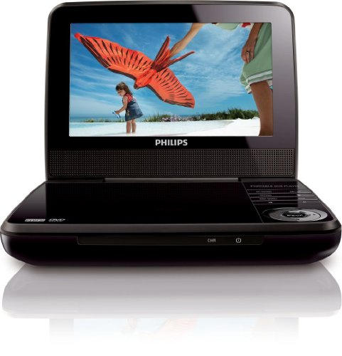Philips 7' LCD Portable DVD Player, PET741M/37