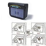 LanLan Ventilatore, Ventola di raffreddamento aria auto solare Ventola di raffreddamento a risparmio energetico uso universale,Estate di Raffreddamento Aria Circolatore Low Noise