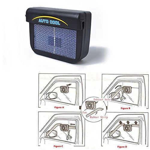 RONSHIN Ventilador Escape Aire energía Solar Coche
