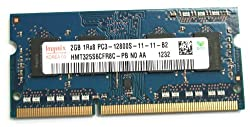 Hynix 4GB kit 2x2GB PC3-12800S DDR3 1600MHz 204-Pin SO-DIMM Memory Module HMT325S6CFR8C-PB