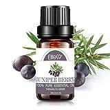 Elite99 Aceites Esenciales, Aceites Esenciales para Humidificadores de Enebro, Aceites de Aromaterapia 100% Puros 10ml