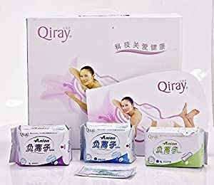 Winalite Lovemoon/Qiray Anion Sanitary napkin,Sanitary towels. pads,Panty liners one lot 19 Packages