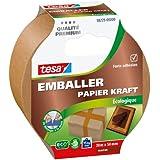 tesa Emballer Papier Kraft Ecologique marron 20m x 50mm