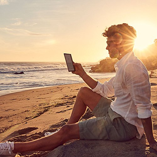 Kindle Oasis eReader - Grafit, wasserfest, hochauflösendes 7 Zoll-Display (300 ppi), integriertes Audible, 32 GB, WLAN
