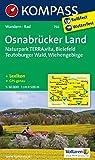 Osnabrücker Land. Bielefeld - Wiehengebirge 1 : 50 000: Wandern / Rad. GPS-genau