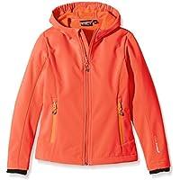 CMP Softshell chaqueta para niña, marrón-Aranciata, {152}, 3A29385N