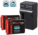 Bundlestar SET+ 2x Baxxtar PRO Energy Akku für Sony PJ410