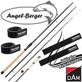 DAM Sumo Sensomax Carp Feeder Feederrute mit Angel Berger Rutenband (3,30m / 50-100g)