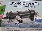 UV-C chiarificatore-alghe filtro luce filtro stagno filtro 7 W