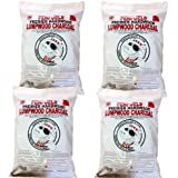 PENFUELS Hardwood Lumpwood Charcoal for BBQ, Barbecue : Four 5kg bags (20kg total)