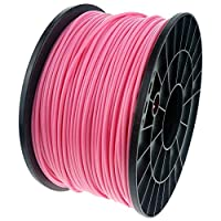 Pictech® Excellent Quality Pink PLA 3D Filament for 3D Printers Such as RepRap, MakerBot, Ultimaker, Up!, Makergear, etc and Pen - Diameter 1.75mm - Weight 1Kg - Tolerance 0.05mm - Printing temperature 220-260oC