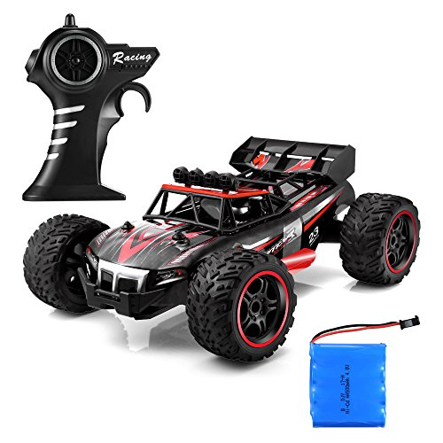 1/14 RC Car - 2.4GHz Remote Control Car, Off-Road Truck Rock Crawler RC Truck Electric Racing Sand RC Buggy Vehicle Gift for Boys and Girls All Terrain
