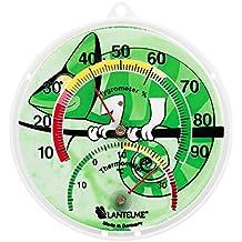 Lantelme 6137Terrario/Reptiles/terrarios combinado Termómetro y higrómetro. Thermo higrómetro analógico y bimetal