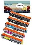 5 Toner XL Kompatibel zu Brother TN-242 TN-246 für Brother DCP-9017CDW DCP-9022CDW MFC-9142CDN MFC-9332CDW MFC-9342CDW HL-3142CW HL-3152CDW HL-3172CDW Ersatz für TN-242BK / TN-246C / TN-246M / TN-246Y