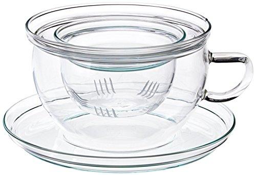 Trendglas Jena Tea Time Teetasse mit Glasfilter (0,3 Liter)