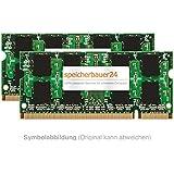 4GB RAM-Kit (2 x 2GB) - Arbeitsspeicher für HP (-Compaq) Business Notebook nc6400