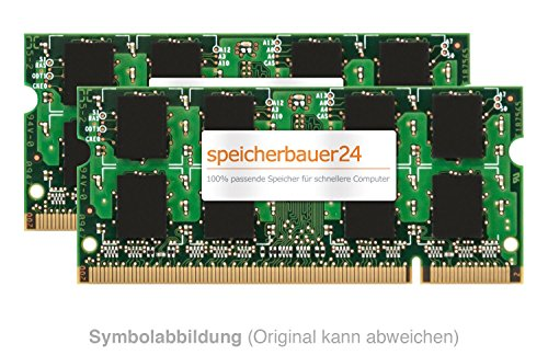 8GB Arbeitsspeicher (2X 4GB RAM Kit) - 200pin SO-DIMM DDR2 PC2-6400 - 800MHz - passend für Sony VAIO SR Serie - VGN-SR31M/S - RAM-Upgrade -