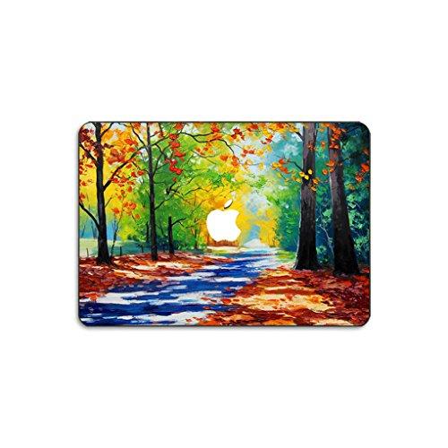 kikhorse Ölgemälde Kollektion Hochwertige Hartschale Ultra Dünn Snap Case Schutzhülle Für New MacBook Air 13 Zoll Retina (2019/2018, Touch ID) (Modell: A1932) (Jahreszeiten)