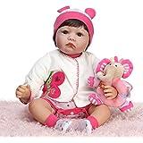 NPK Collection Reborn Baby Doll Soft Silicone 22inch 55cm Newborn Baby Doll realista de vinilo muñecas precioso regalo de cumpleaños