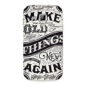 Neo World Typography Back Case Cover for Galaxy S Duos