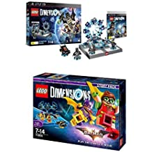 LEGO - Starter Pack Dimensions (PS3) + LEGO Dimensions Story Pack: Batman Movie