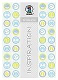 Ursus 62364601F Designkarton, Meine Taufe, Junge, 200 g/Qm, Din A4, 25 Blatt, Motiv 1