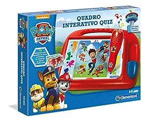 Clementoni - QUADRO QUIZ PAW PATROL (67253 - Versión Portuguesa)