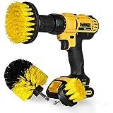 "StillCool Drill Brush Cepillos para el Taladro, 3pcs Electric Drill Brush 2""3.5"" 4""Cepillo eléctrico para Automóvil, Alfombra"