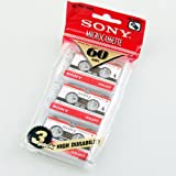 from Sony Sony MC-60 MC60 Microcassette Blank tapes 60 min 3tapes in bag