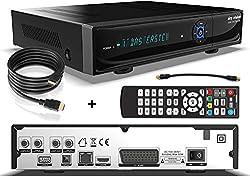 sky vision 2200 HD Digitaler Satelliten Receiver mit 1TB Festplatte (HDD, HDTV, DVB-S2, HDMI, USB 2.0, Full HD 1080p) inkl. conecto® HDMI-Kabel