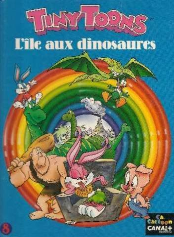 Tiny Toons : l'île aux dinosaures, tome 8 par Collectif