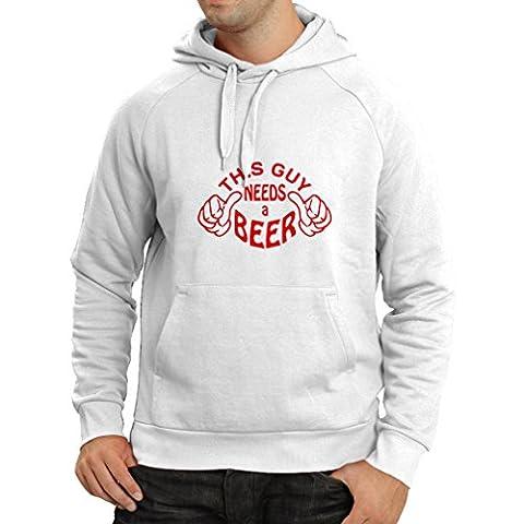 Drôles Costumes Idées Pour Femmes - Sweatshirt à capuche manches longues Ce mec