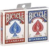 Paquet Cartes X 2 Jeu Bicycle - 1 Rouge et 1 Bleu