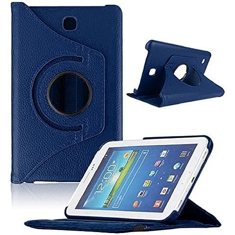 Bocideal–Custodia per Samsung Galaxy TAB47inch Tablet, T230, 360girevole - Pelle Open Face