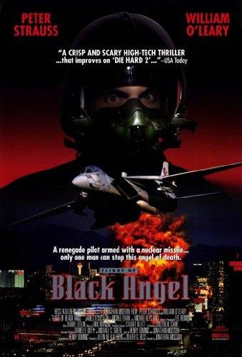 Flight of Black Angel Movie Poster (27,94 x 43,18 cm) (Of Angel Flight Black)